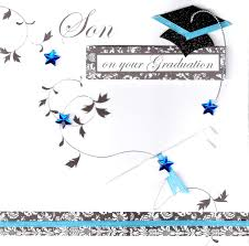 Son On Your Graduation Congratulations Greeting Card Cards