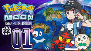 Let's Play Pokemon: Sun and Moon - Part 1 - You choose me! - YouTube