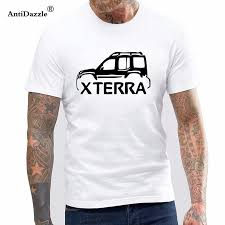 Antidazzle Designer T Shirt Nissan Xterra Classic Silver T