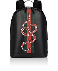 gucci book bags for men. gucci kingsnake-print backpack - backpacks 505134368 book bags for men