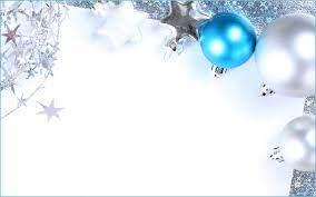 Blue Christmas Desktop Wallpaper