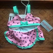 cat & jack Swim   Baby Girls Cat Jack 12m Watermelon Bathing Suit ...