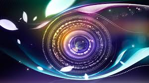 Digital Abstract Eye Hd 3d Wallpaper Free Download For