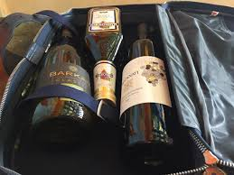 wines in a bag legally smuggled into filo s monte belmonte photo