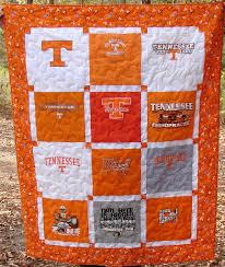University of Tennessee T-shirt Quilt   Shirt quilts & University of Tennessee T-shirt Quilt   by Nancy - Breaux Bunch Quilts Adamdwight.com