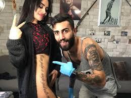 наз мила о нелепой татуировке благодаря тату я стала мировой