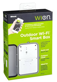 outdoor timer box the smart box is easy to set up and does not require a outdoor timer box