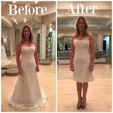 Wear Your Wedding Gown Again Chopping Your Dress The Plumed