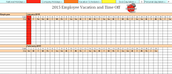 Vacation Calendar Template Vacation Calendar Template Beneficialholdings 2