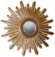 gold sunburst mirror. Gold Sunburst Mirror B