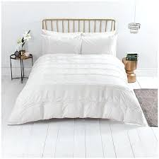 home renaissance boutique white bed linen pintuck bedding close image for from comforter set