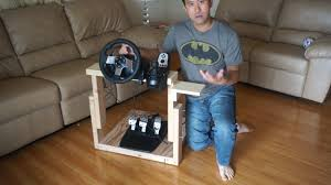 how to make the best homemade logitech g27 gaming wheel stand in the world you