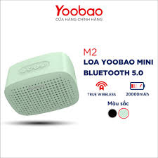 Loa Bluetooth 5.0 Yoobao M2 Hỗ trợ ghép đôi TWS Công suất 3W - Hàng chính  hãng - Bảo hành 12 tháng 1 đổi 1 - Loa Bluetooth