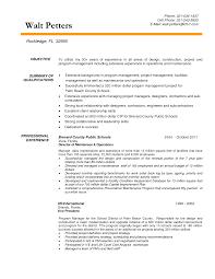 Download Construction Manager Resume Haadyaooverbayresort Com
