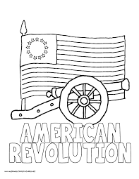 American Revolution Am His Native Americans Coloring Page World