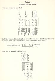 thesamba com type 1 wiring diagrams Single Pole Switch Wiring Diagram 1949 52, from the german volkswagen instruction book