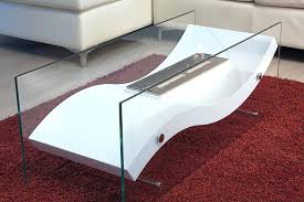 ethanol fireplace coffee table bio ethanol fire coffee table