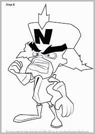 Crash Bandicoot Coloring Pages Marvelous Learn How To Draw Doctor