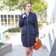 <b>VOA</b> navy blue heavy <b>silk solid</b> color Cotton padded jacket zipper ...