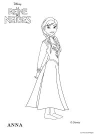 Coloriage Officiel De La Reine Des Neiges Elsa La Reine Des Neiges