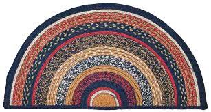 crochet half moon rug pattern half circle rug braided jute rug half circle x in half crochet half moon rug