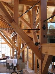 post beam construction. Contemporary Beam Post And Beam Construction Westcliffe Timbers W Metal Accents And Beam Construction