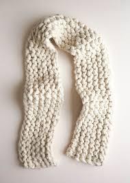 jumbo garter scarf purl soho