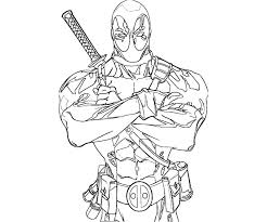 Best Deadpool Coloring Pages 5540 Deadpool Coloring Pages