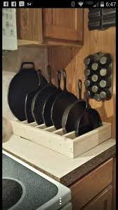 Kitchen Pan Storage 17 Best Ideas About Pan Storage On Pinterest Pan Organization