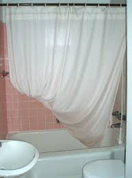 picture of after every shower hang the corner of the curtain on the hook on