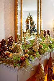 Christmas Decorations Design Decorating Holiday Mantels Traditional Home 43