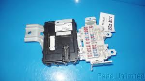 nissan z z oem in dash fuse box fuses amp body 03 06 nissan z33 350z oem in dash fuse box fuses body control module bcm