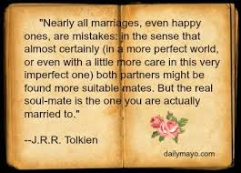 Marriage Quotes Best JRR Tolkien On Marriage