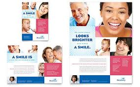 print ad templates family dentistry print ad template design sample design