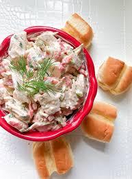 healthy imitation crab salad recipe ...