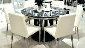 modern round dining table with leaf contemporary round dining table modern round dining table set furniture