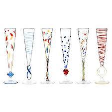 unique champagne flutes. Rossini Flutes - Set Of 6 Unique Champagne N