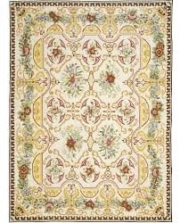 moldova 2103c needlepoint a ivory green yellow and red rug carpet available through david e