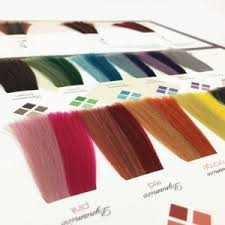 Hair Swatch Color Chart For Hair Dye Color