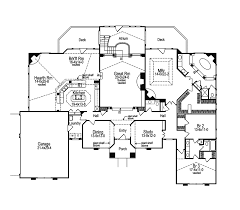 ranch house floor plans. Modern House Plan First Floor - 007D-0002 | Plans And More Ranch