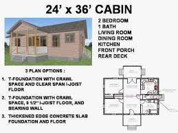 24x36 cabin plans with loft