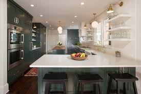On Trend Custom Color Cabinetry Adds Drama And Personality In Two