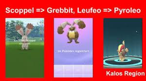 Scoppel zu Grebbit und Leufeo zu Pyroleo entwickelt - Pokemon GO Deutsch  183 - YouTube