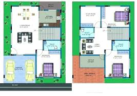 site duplex house plan s plans west facing 30 40 with car parking east