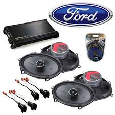 fit ford focus w blaupunkt radio 03 04 speaker upgrade kicker 2 image is loading fit ford focus w blaupunkt radio 03 04