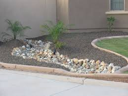 Small Picture Arizona desert landscape design with riverbeds rock desert