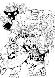 Guarda Tutti I Disegni Da Colorare Degli Avengers Www Con Immagini