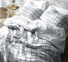 gray duvet cover twin frayed edgings twin duvet cover oversized twin white gray light gray duvet