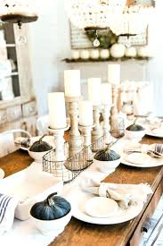 white dining table decoration ideas round table decoration ideas medium size of din room centerpiece ideas