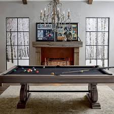 Pool table dining top Insert Frontgate Barnstable Pool Table With Dining Top By Imperial Frontgate